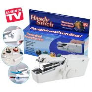 image of Handy Stitch hand-held mini portable multifunction electric sewing machine