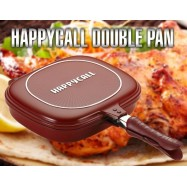 image of Happy Call Deep Duplex pan 32cm oven effect double sided pan Non-stick Made in korea kitchen cook Cook ware Kitchen & dining