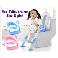 image of  3in1 Kids Toilet Ladder Toddler Baby Training Toilet Potty Seat Non Slip Trainer