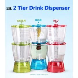 image of 13L 2 Tier Drink dispenser BPA FREE