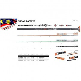 image of Seahawk GACHIRI SOLID CARBON Jigging Rod