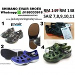 SHIMANO EVAIR SHOES