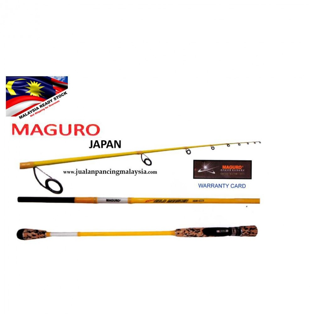 MAGURO JAPAN SOLID CARBON GOLD MASTER ROD