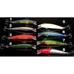 JPM UV Luminescent Minnow 8.5cm/8g