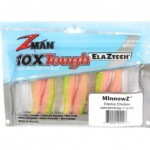Zman Soft Lure MinnowZ 3 Inch, ELECTRIC CHICKEN