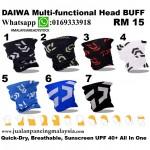 DAIWA Multi-Functional Head BUFF