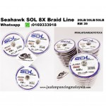 Seahawk SOL 8X Braid Line