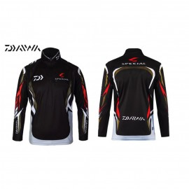 image of DAIWA COLAR QUICK DRY UPF 50+ LONG SLEEVE JERSEY