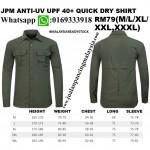 JPM ANTI-UV UPF 40+ QUICK DRY SHIRT