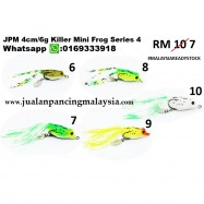 image of JPM 4cm Killer Mini Frog Series 4