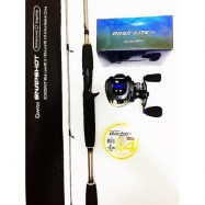 image of SEAHAWK BASS LITE COMBO QUANTUM SNAPSHOT ROD