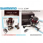 SHIMANO STRADIC CI4+ REEL ,1000 & 4000