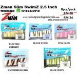 Zman Slim SwimZ 2.5 Inch
