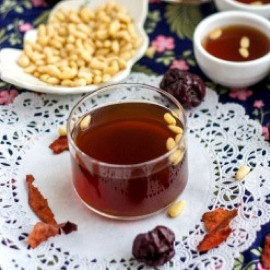 image of BENTONG GINGER RED DATE LONGAN TEA (BROWN SUGAR)