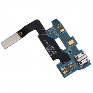 image of USB Charging Dock Port Flex Cable Parts For Samsung Galaxy Note 2 N7100