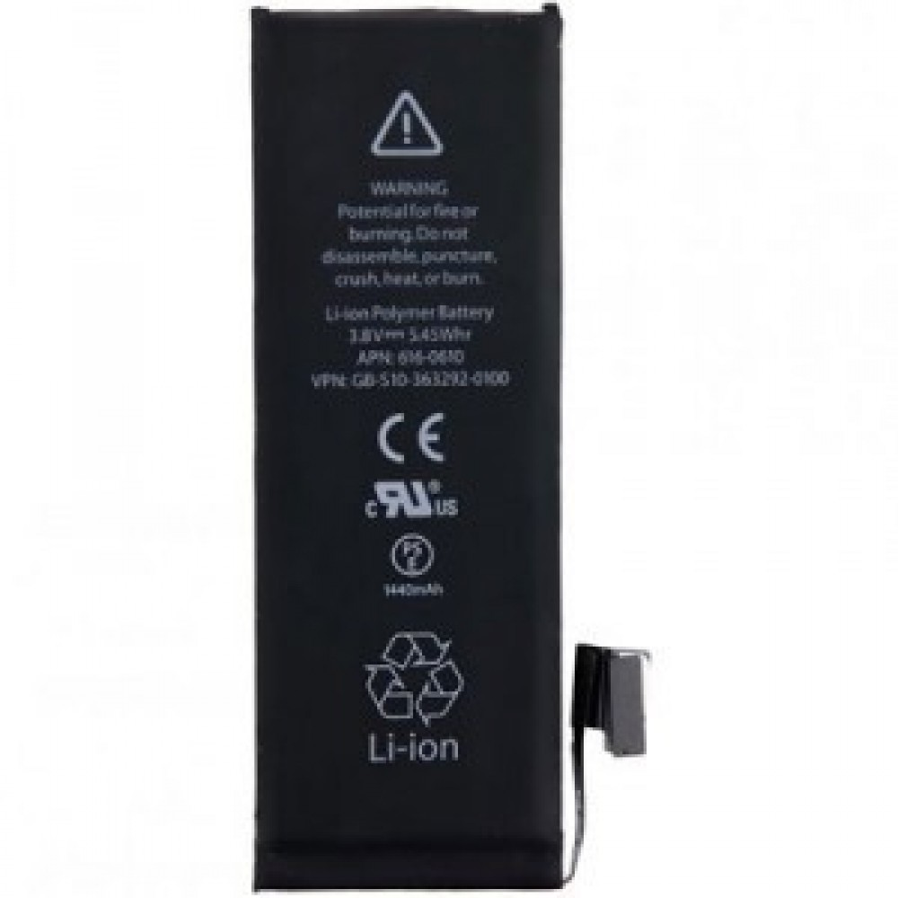 Replacement Internel 3.82V 1624mAh Li-ion Battery for iPhone 5SE SE Black