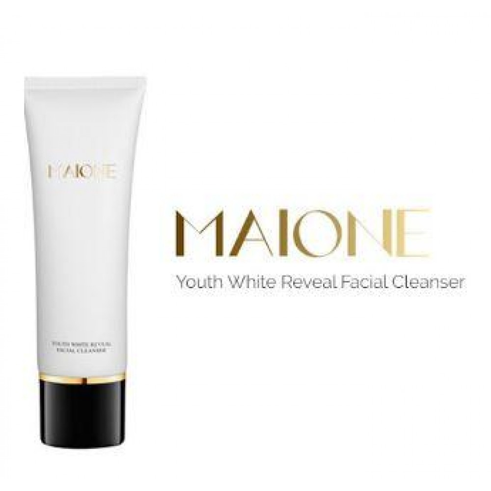 Maione Youth White Reveal Facial Cleanser[free bubble net]