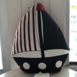 image of Mediterranean Style Sailing Pillow