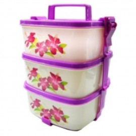 image of LAVA eco tiffin carrier/food carrier 3tier