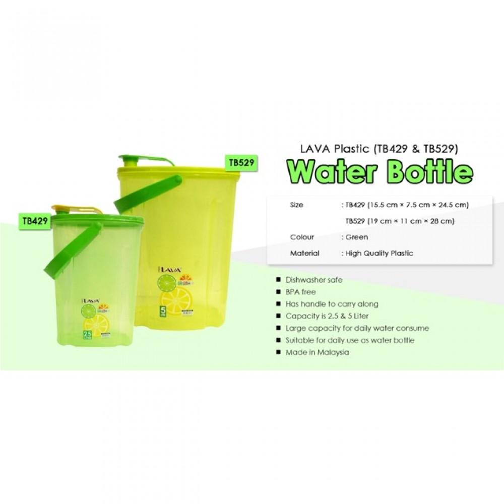 LAVA WATER BOTTLE /WATER TUMBLE 2.5L/5L