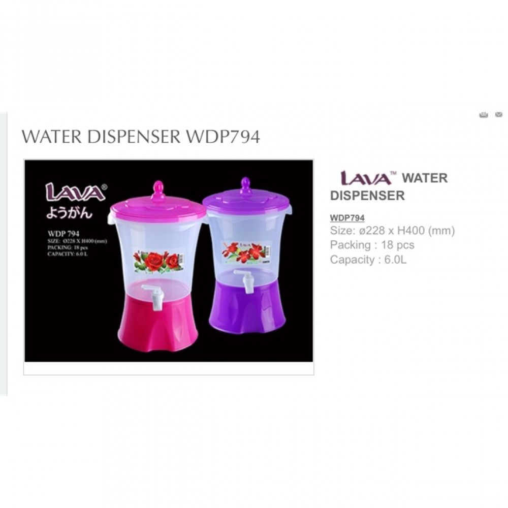 LAVA WATER DISPENSER WDP 794 6L