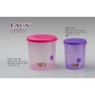 image of LAVA ROUND FOOD CONTAINER/Tupperware's AIR TIGHT