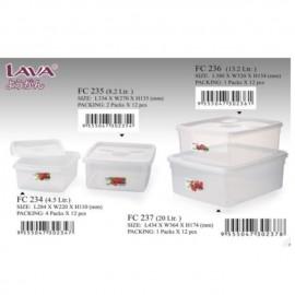 image of LAVA FOOD CONTAINER/Tupperware /multi purpose storage box BPA FREE