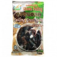 image of HAPPY GRASS GUILING GRASS JELLY POWDER (low sugar)110g 快乐草龟苓膏仙草冻粉