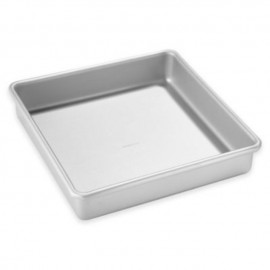 image of Aluminum Square bakery /cake tray 方形洪盘