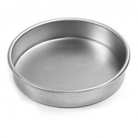 image of Aluminum Round bakery tray with handler烘盘