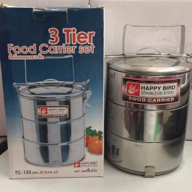 image of HAPPY BIRD 3 tier food carrier set FC123