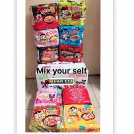 image of Wholesale 1 ctn(can mix any flavour) samyang multi hot chicken ramen (halal)