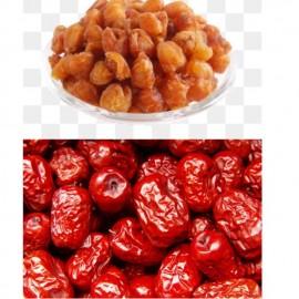 image of DRY LONGAN (longan kering) /RED DATES(kurma merah)