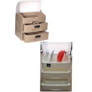 image of Century dishes storage rack / kitchen dish racks /rak pinggan 6880/2 3tier