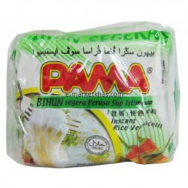 image of PAMA BIHUN instant rice vermicelli clear soup flavor 55gx5 halal