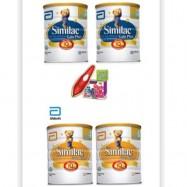 image of similac gain plus step 4 1.8kg x2 tin FOC SMART PEN