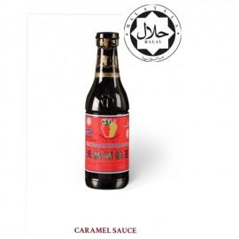 image of Apple brand premium thick caramel sauce/Epal sos karamel pekat (premium) 800g
