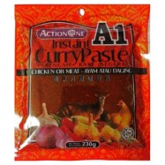 image of A1 Instant Curry Paste Chicken or Meat / 肉类咖喱即煮酱