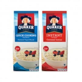 image of QUAKER instant/quick cook oatmeal 900g/1kg/1.35kg