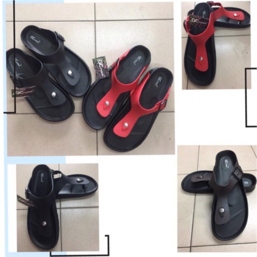 New men t-strap sandals shoes adult/slipper/shoes