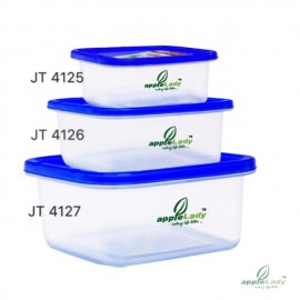 image of Apply lady food container/ Tupperware/Multi purpose storage box