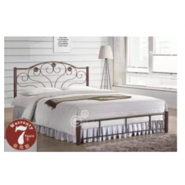 image of Metal SOLID EXTRA STRONG Mild Double Metal Bed Frame