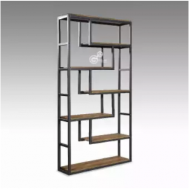 image of ABRIANNA Industrial Style Metal Divider