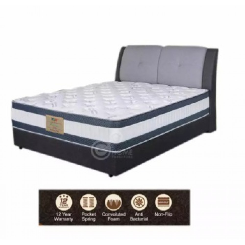 "PREMIUM COMFORT 13"" Pocketed Spring Mattress"
