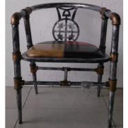 image of RAFAELLA Metal Chair (2 units)