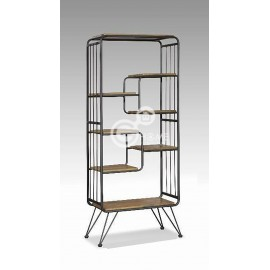 image of ADELA Industrial Style Metal Divider