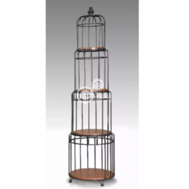 image of ALEASE Industrial Style Metal Divider