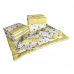 7 in 1 Baby Soft Bedding Premium Set Green Color
