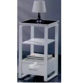 "image of NIRVANA Aluminium White Color Multi Rack 30"""