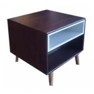 image of KAYTLYN Walnut Side Table